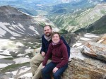 We're WAY up high on Imogene Pass.  Truly magnificent view.